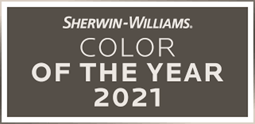 Sherwin Williams Color of the Year 2021 Urbane Bronze